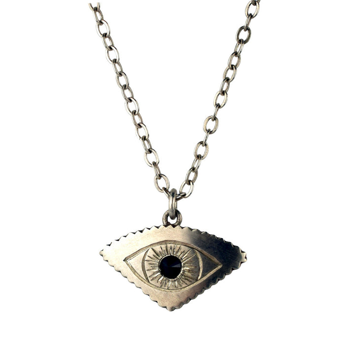 Silver All-Seeing Eye Pendant