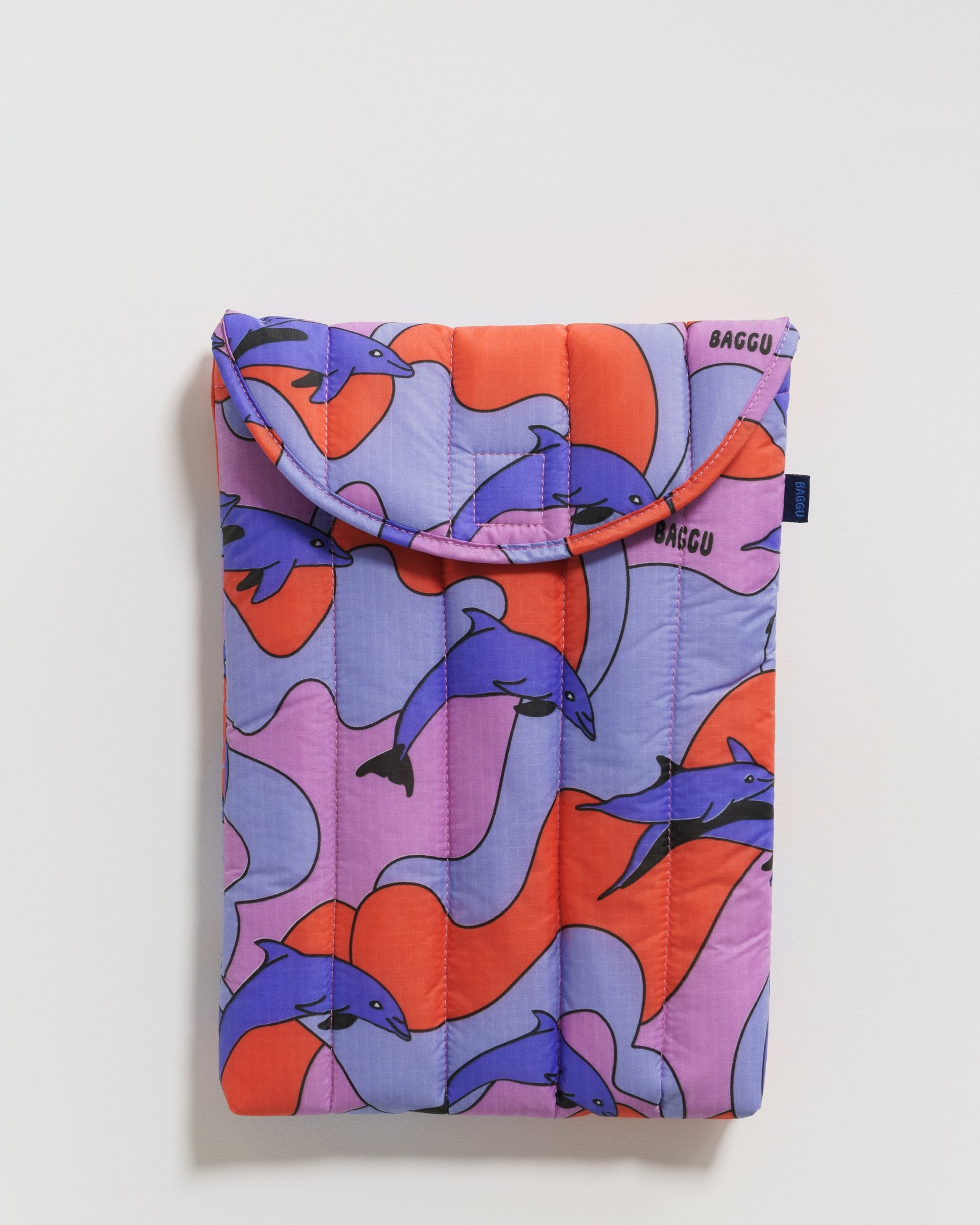"Puffy Laptop Sleeve 13""/16"" (Dolphins)"