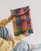 "Puffy Laptop Sleeve 13"" / 16"" (Madras No.1)"