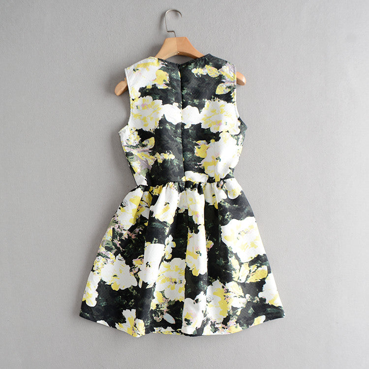 Poizie Floral Splasher Dress