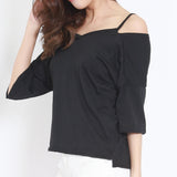 Norbon Shouldercuts Dropshoulder Top