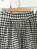 Cottage Chic Checkered Skirt