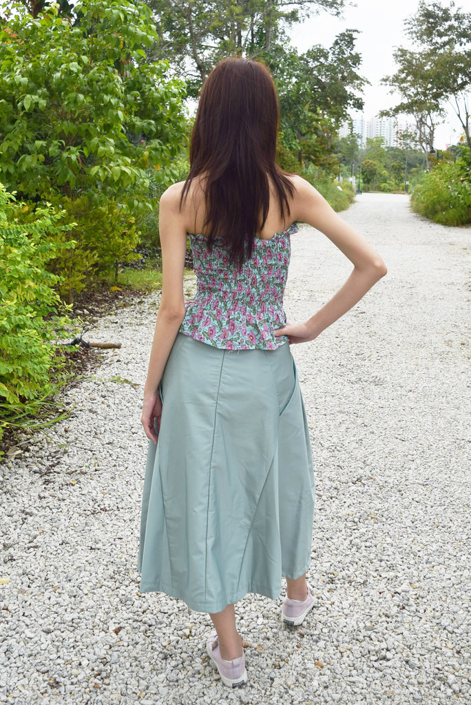 Ardsley Seafoam Maxi Skirt