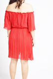 Forrest Pleated Dress