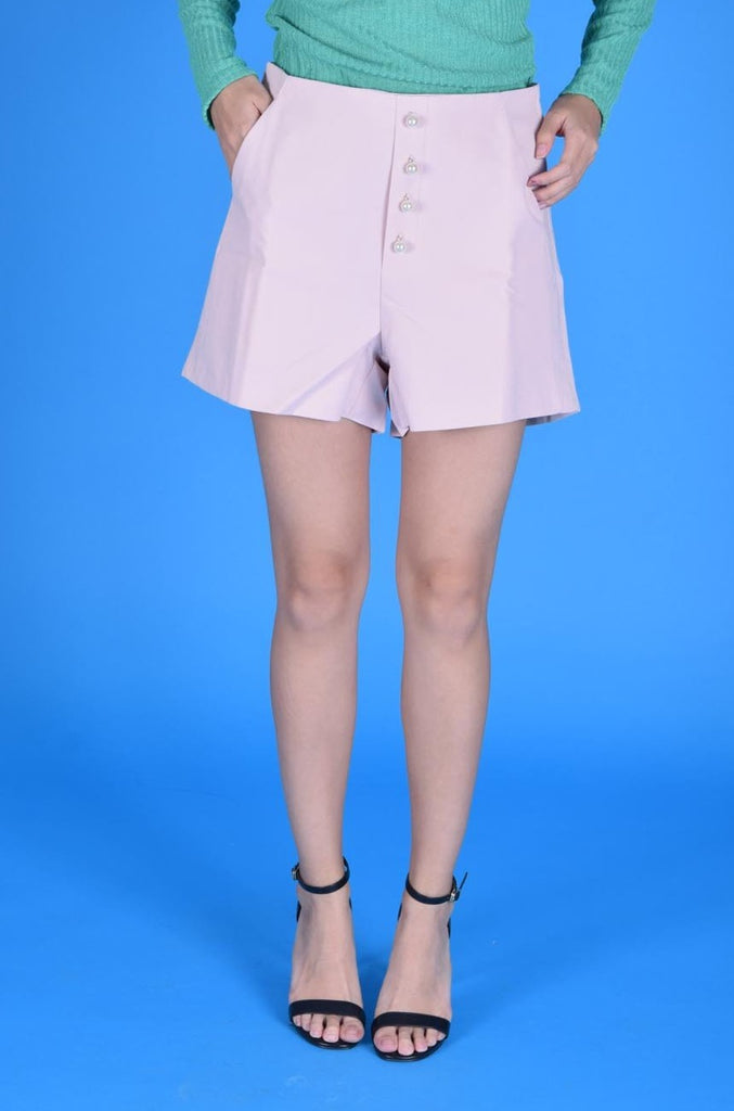 Blysse Pearl Button Shorts