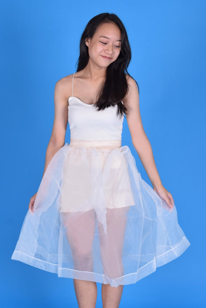 Amie Light Tulle Layers Skirt