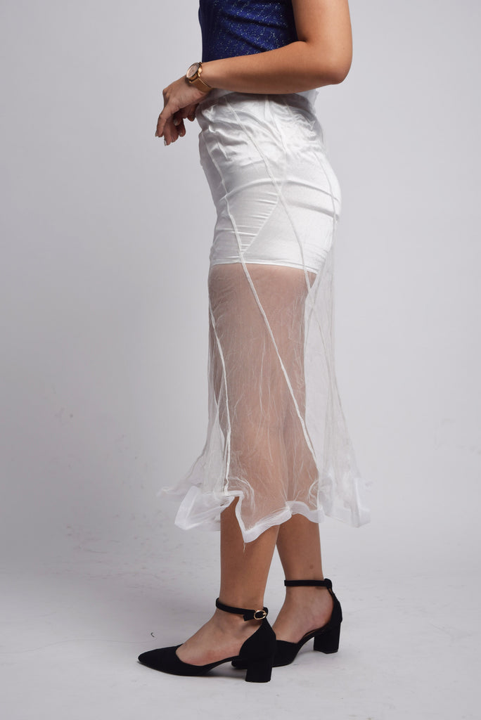 Sussex Organza Maxi Skirt