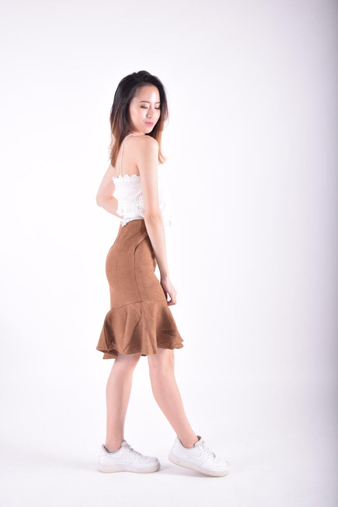 Idana Mermaid Hem Skirt