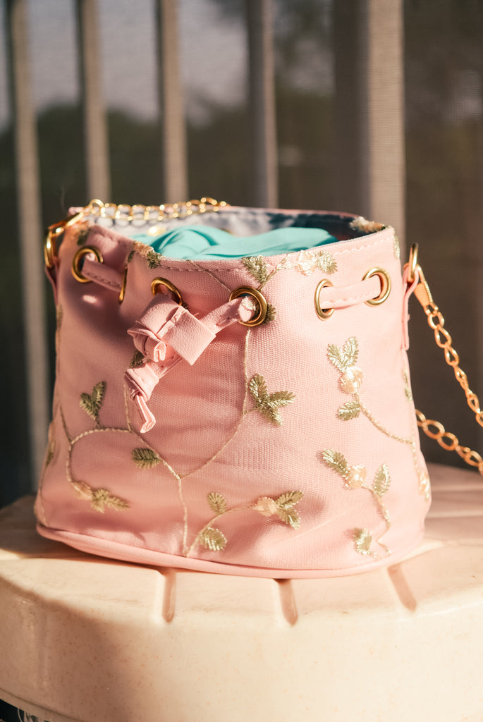 Waverly Floral Embroidery Bag