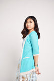 Abella Pastel Cotton Cardigan