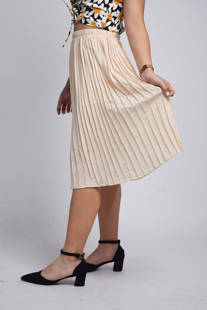 Galiana Essentials Pleated Skirt