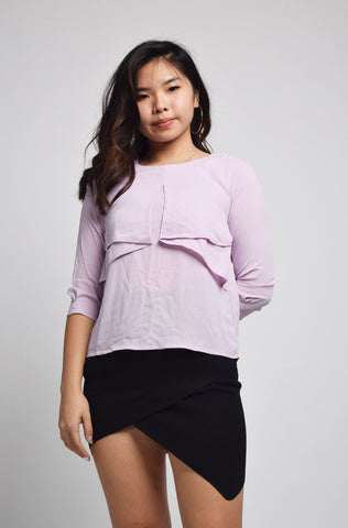 Quinta Tie Scrunchie Top