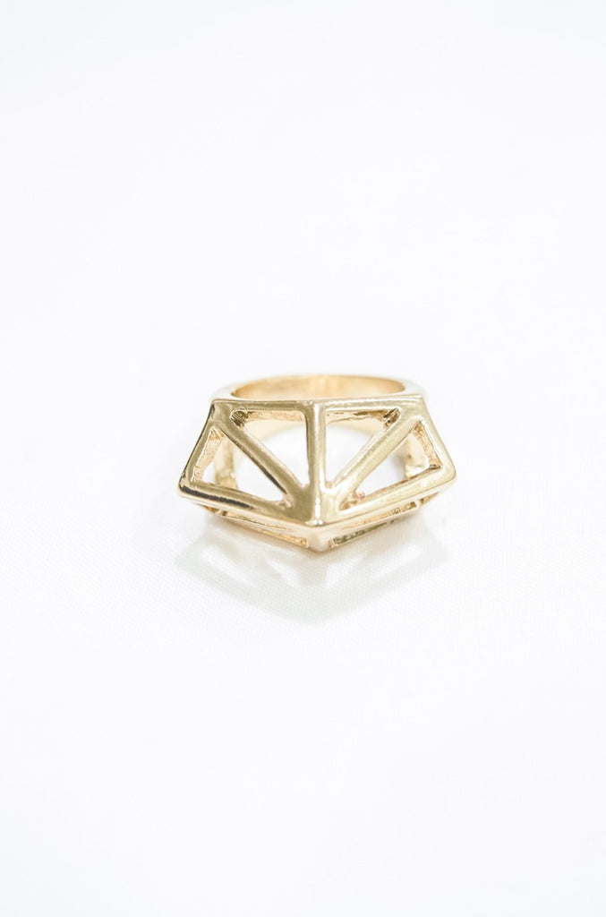 Hyxora Geometric Point Ring