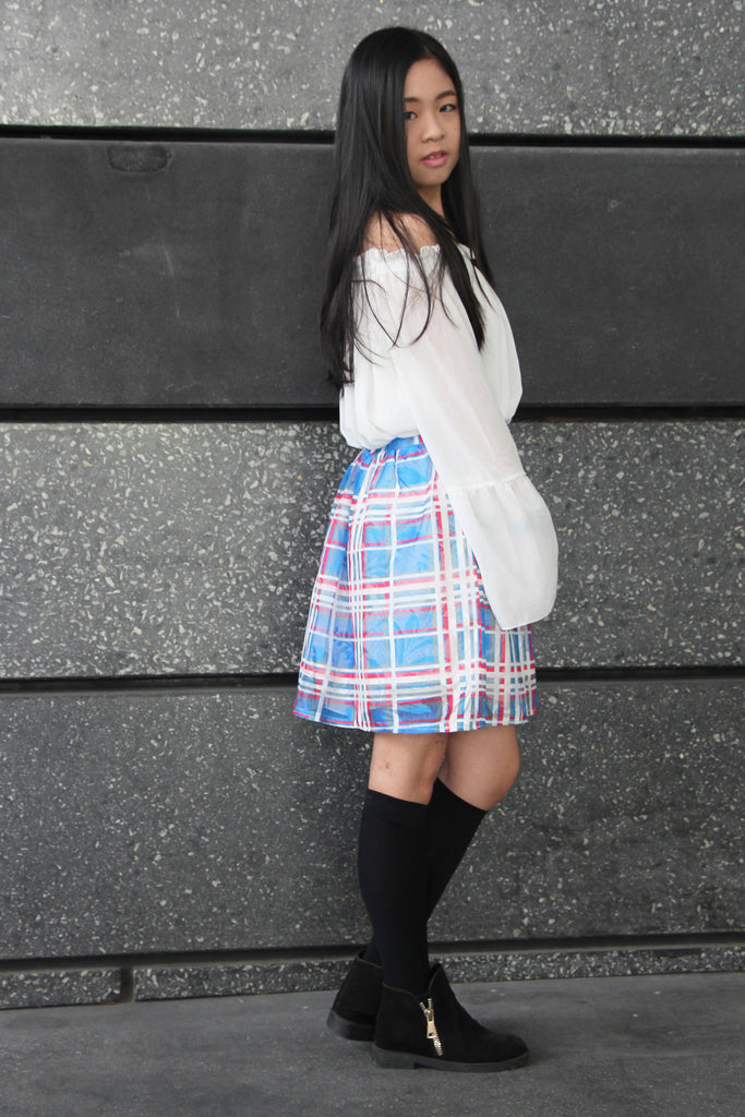 [Remade] Zorya Funky Plaid Skirt