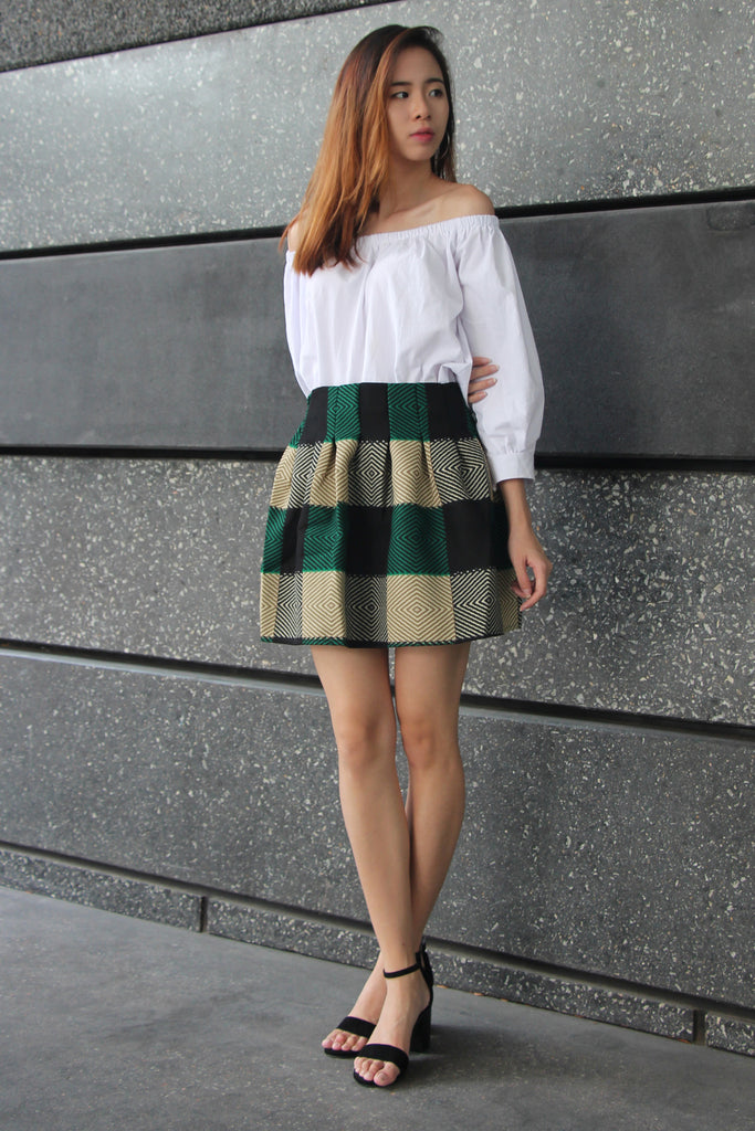[Remade] Beverly Optical Illusions Skirt