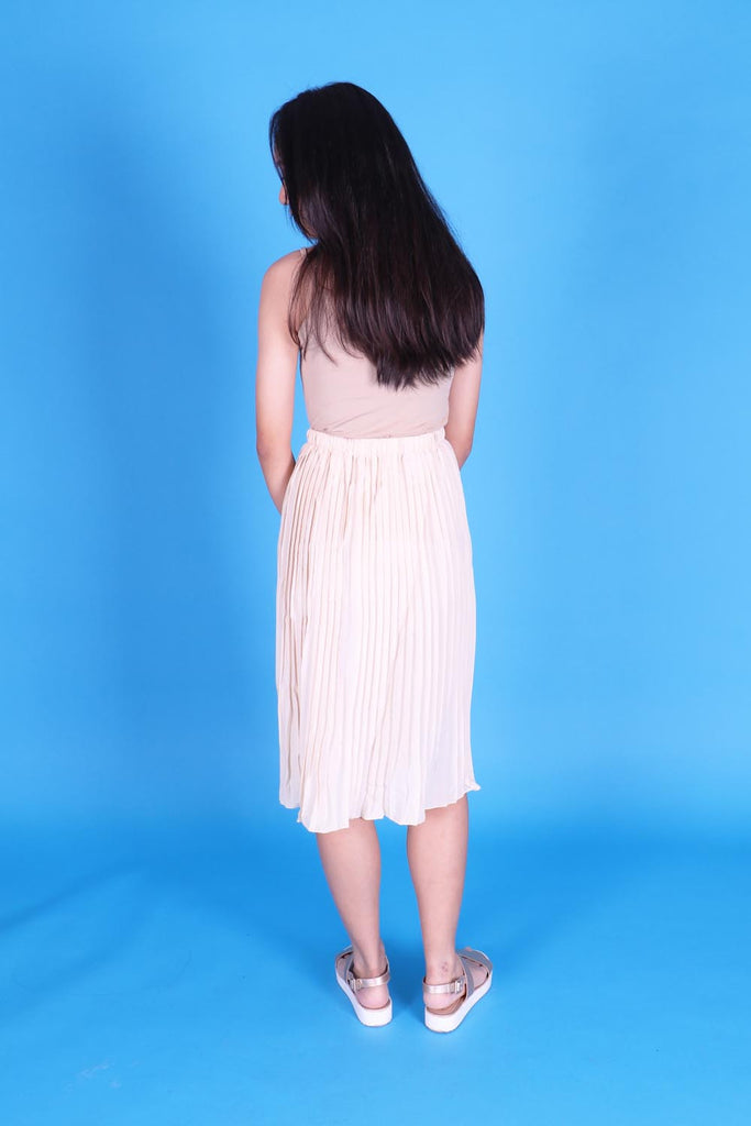 Allene Basic Pleated Skirt