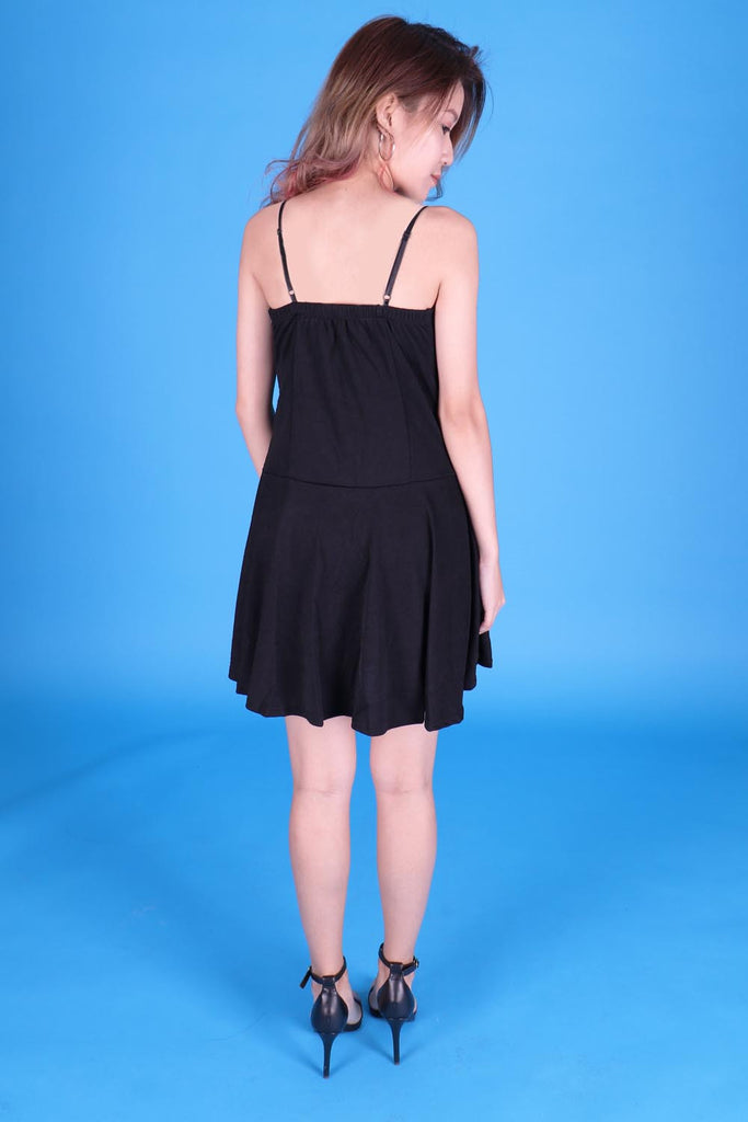 Brandy Front Laceup Dress
