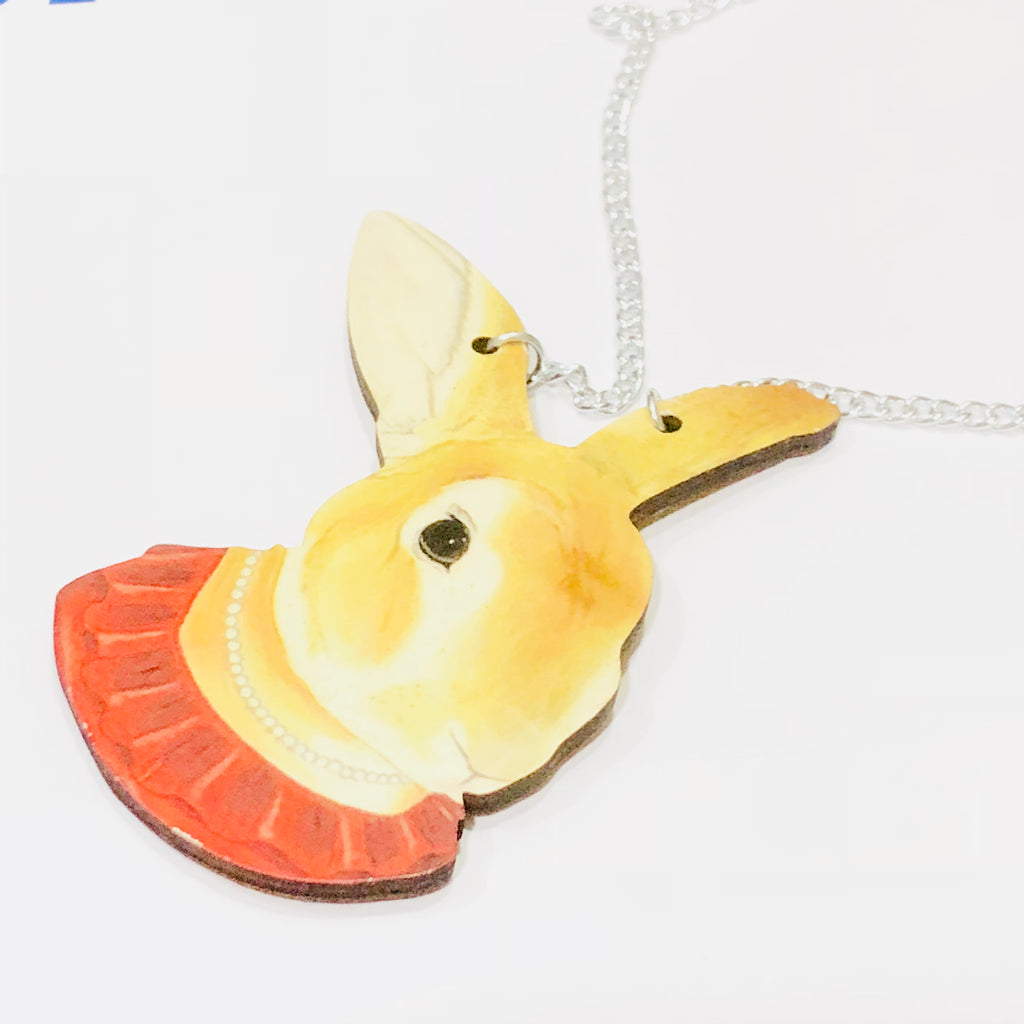 Lady Rabbit Necklace