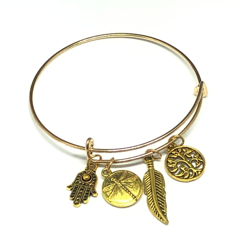 Wyvern Earth Charms Bracelet