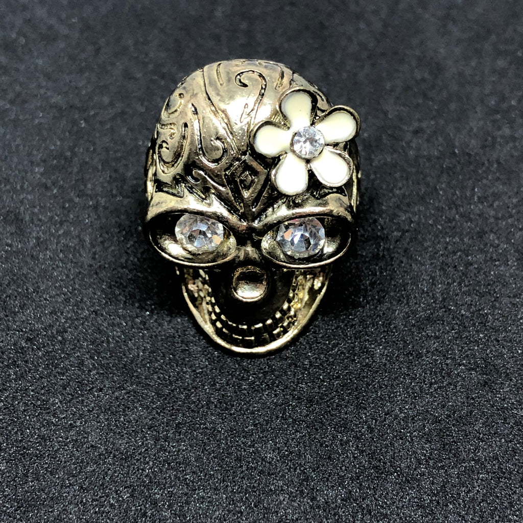Asura Tropical Skull Ring