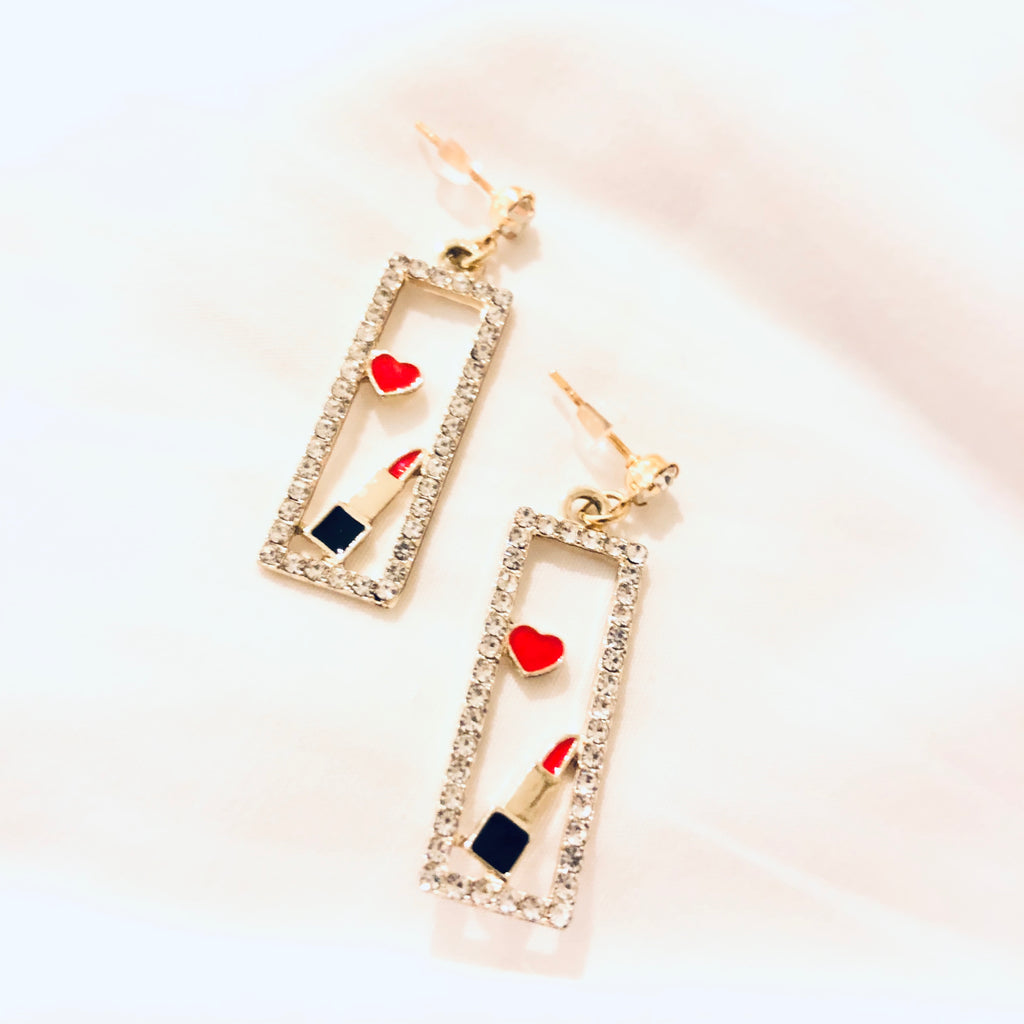 Meridien Lippies Earrings