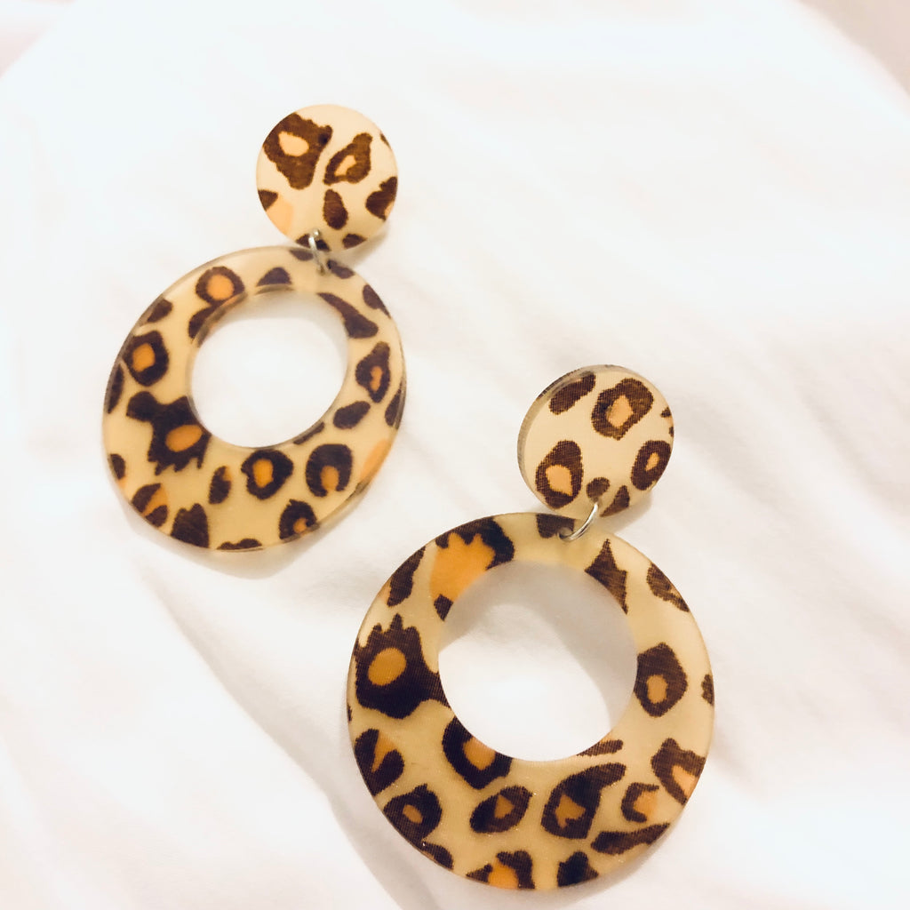 Zortel Retro Leopard Earrings