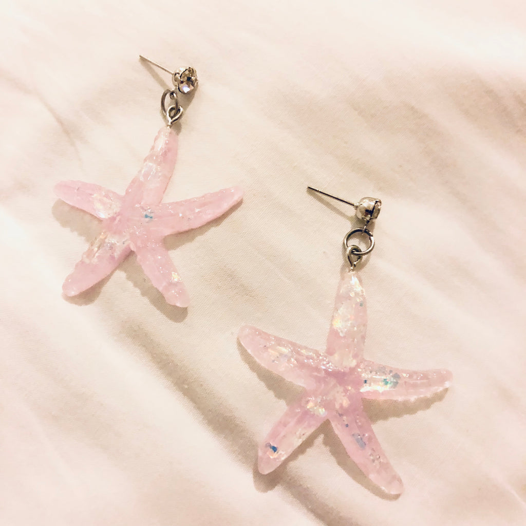 Bayle Sparkle Starfish Earrings
