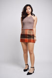 Xenia Warm Palette Plaid Skirt