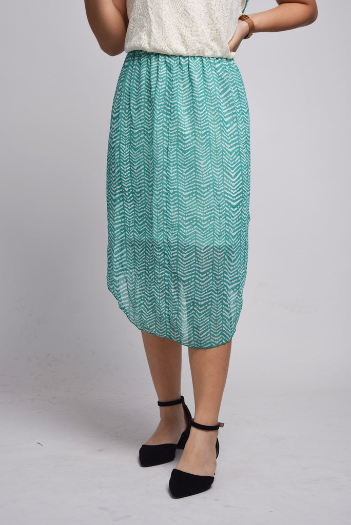 Zanaya Stripe Trim Dress