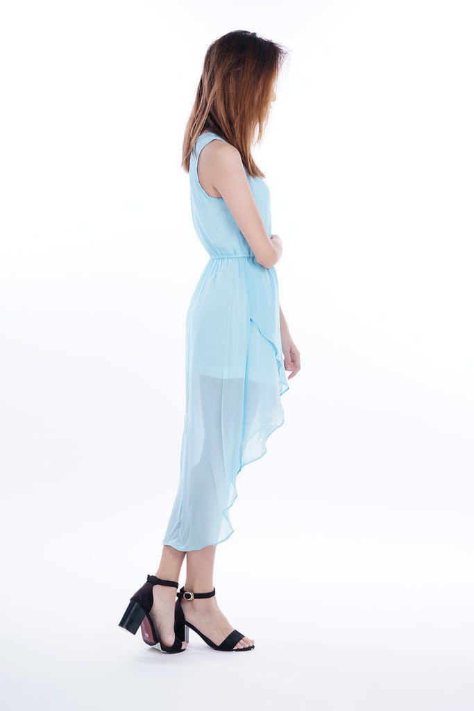 Nevaeh Tulip Cut Maxi Dress