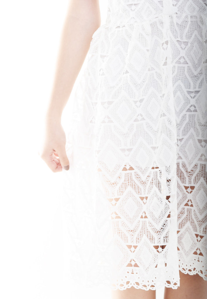 Serene Triangle Detail Dress