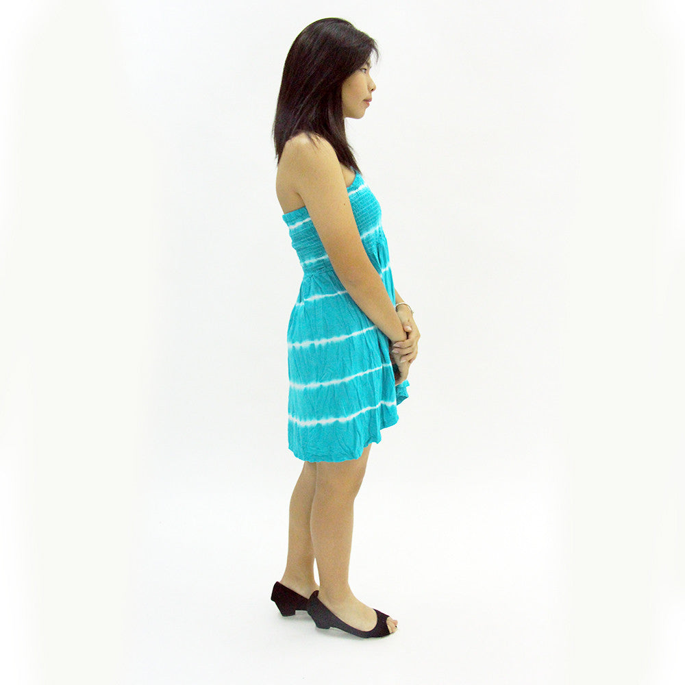 Tasha Alternating Stripes Dress