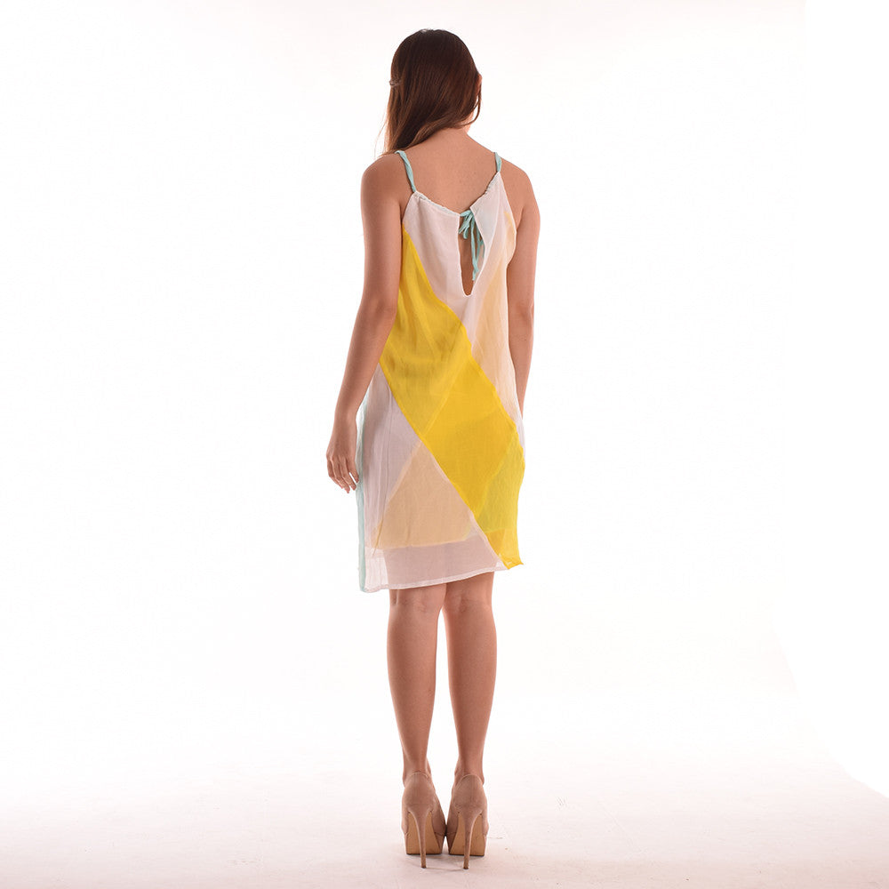 Jamie Candystripe Tieback Dress