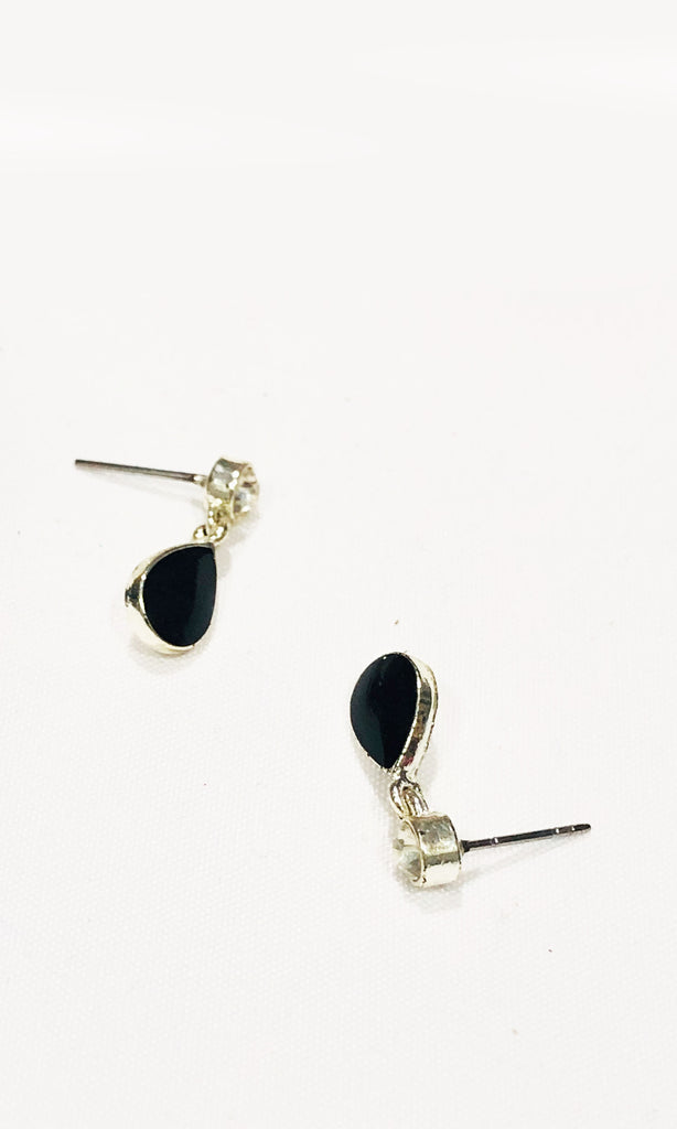 Lumina Crystal Drop Earrings