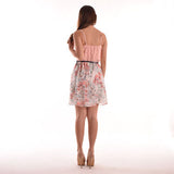 Ariana Bustier And Blossoms Dress