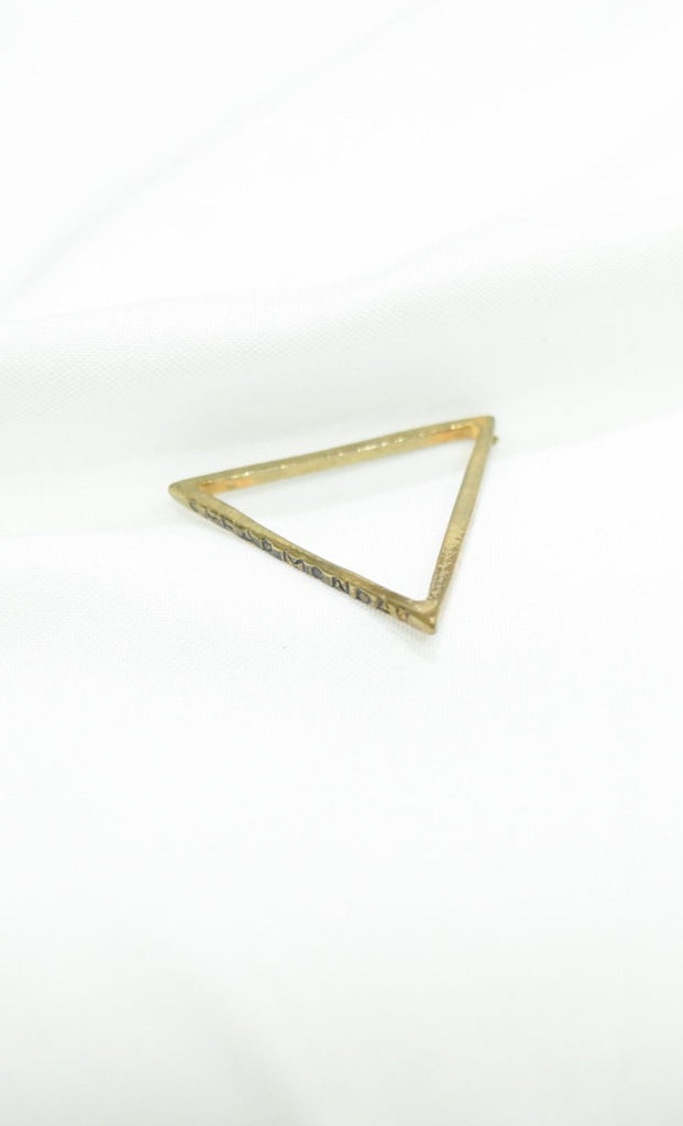 Mondays Triangle Ring