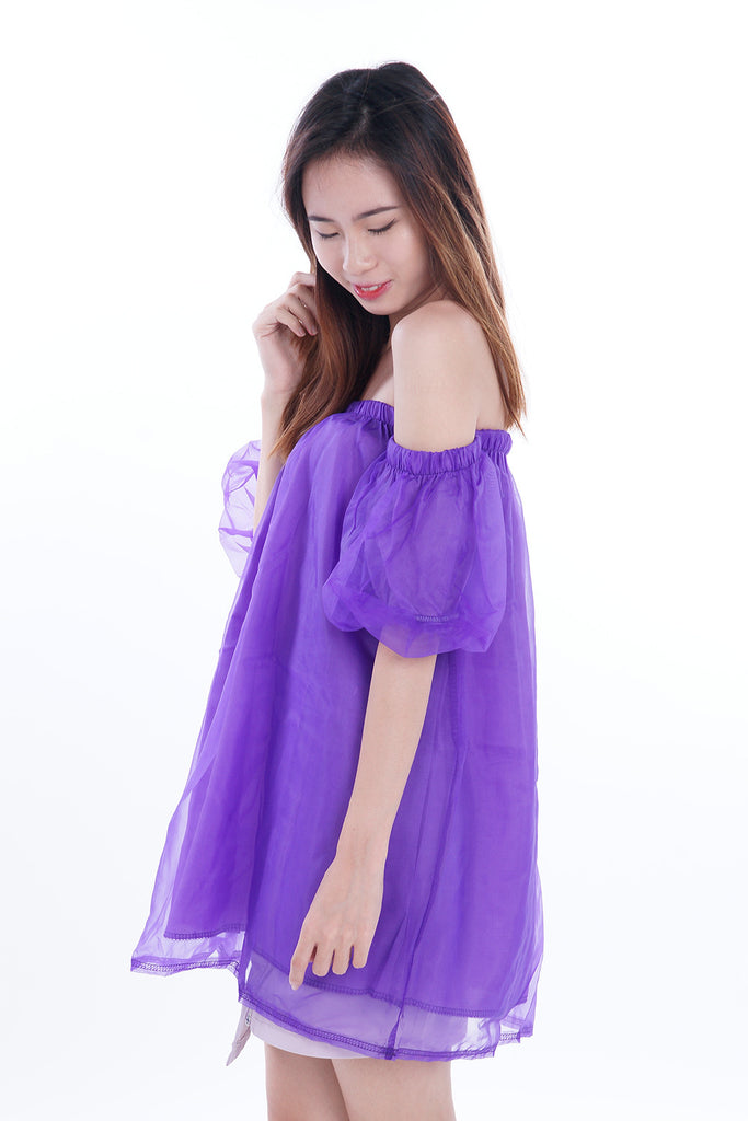 Naomi Fairy Sleeves Offsie Top