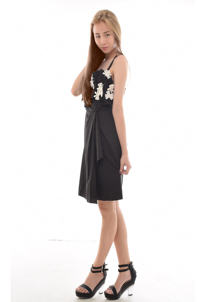 Mystina Floral Corsage Dress