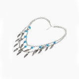 Rafika Feathershot Necklace