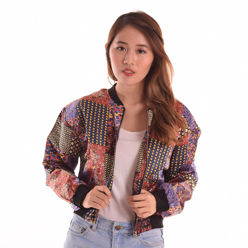 Denayle Patchwork Personality Jacket