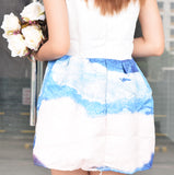 Divina Cloud Prints Dress