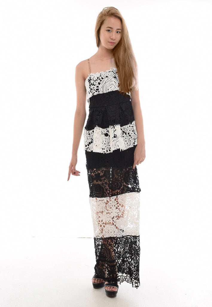 Shantelle Elegant Monochrome Dress
