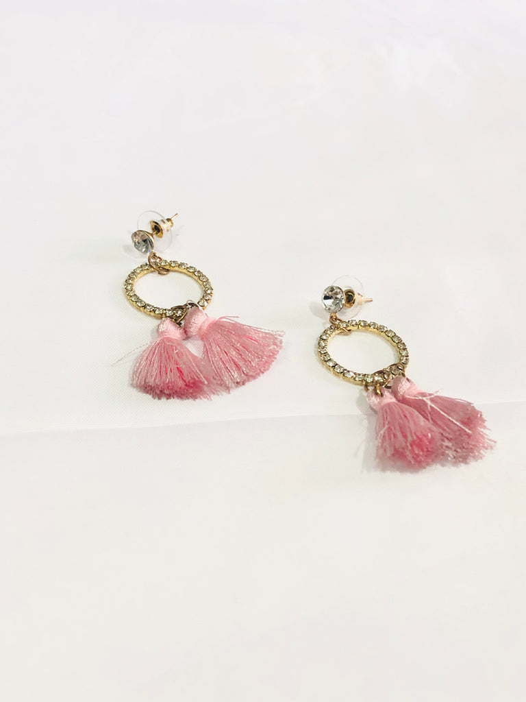 Rythian Tassel Dance Earrings