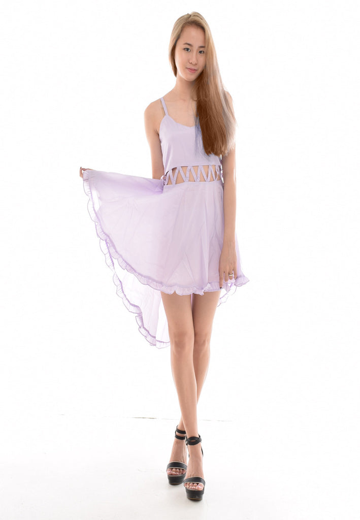 [Restocked] Narelle Lilac Flows Dress