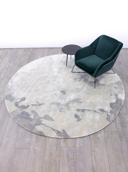 Katie McKinnon for The Rug Collection Aqueous round rug