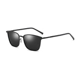 U012 Black Square Sunglasses