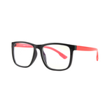 BK004 Red Anti Blue Light Kids Glasses