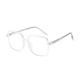 Z019 Transparent Square Anti Blue Light Glasses