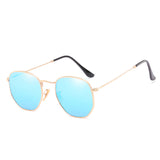 U031 Blue Hexa Sunglasses