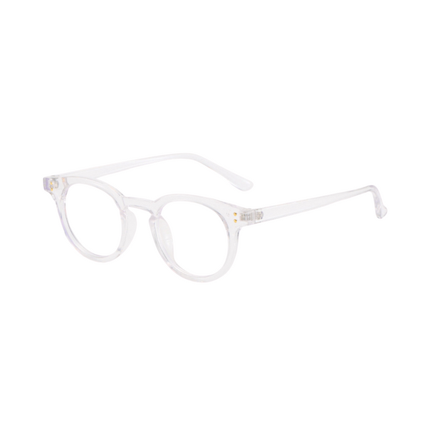Z023 Transparent Round Anti Blue Light Glasses